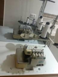Máquinas de costura. facção completa