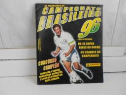 Album do brasileirão 1996 Gremio Campeão quase completo retira no centro de Poa-rs