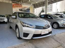 Toyota 2017 Corolla gli upper 1.8 completo prata Automatico confira - 2017