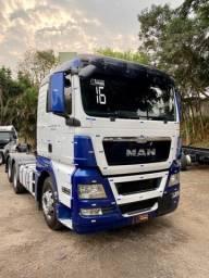 Man tgx 28440 2016 6X2 Financio Primeiro Caminhão