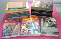Livros a partir de R$ 3,00 - Venda beneficente