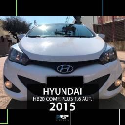 HB20 1.6 Comfort Plus Aut. | Novíssimo | 2015