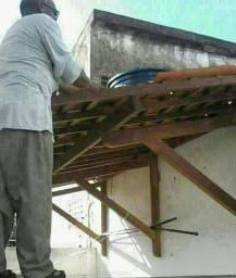 Paulo reforma de telhados coberta retelhamento rufo capote mão francesa