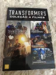 TRANSFORMERS BOX QUADRILOGIA ORIGINAL EM DVDs
