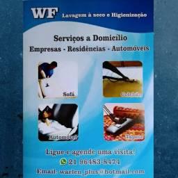 WF Limpeza Lavagem a seco Higienização