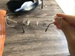 Armação de óculo de Titanium