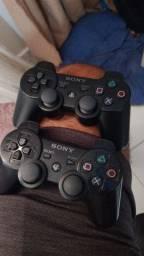Controles e jogos PS3 aceito cartão!!!