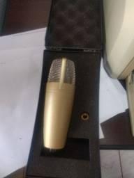 Microfone condensador berhinger c1 novinho na caixa