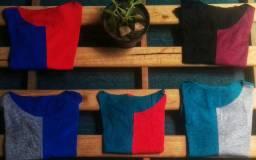 Blusas Bicolor