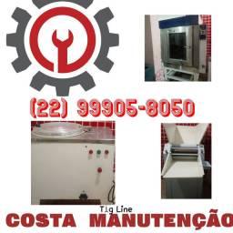 Manutenção de equipamentos de padaria