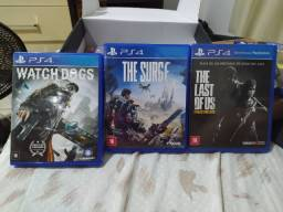 The last of us, the surge e watch dogs