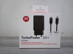 Carregador turbo Motorola 30w