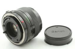 Lente Canon FD 35mm f/3.5 | Made in Japan | Com Estojo Couro