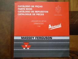 Catálogo de Peças Massey Ferguson Linhas MF 200 e MF 600 Em formato digital arquivo PDF