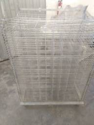 Secador metálico formato 100 x 70 com 50 bandejas