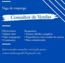 Consultor de vendas de cursos
