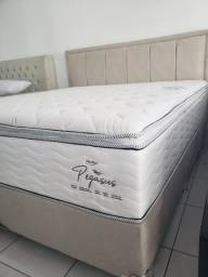 ;; Promoçao cama Box + Colchao Pegasus super king 193x203 Confira