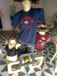 Utensílios para loja de roupas e mercadoria