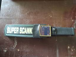 Detector de metal super scanner