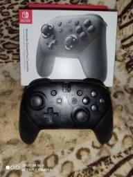 Controle - Nintendo Switch Pro Preto Original