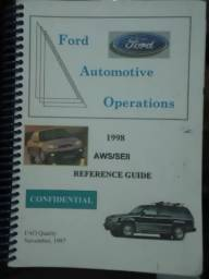 Manual Ford Automotive Operations - Reference Guide 1997