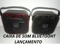 Caixa de Som Bluetooth (Entrega Domiciliar Grátis)