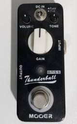Pedal para Baixo Thunderball - Fuzz e Distorção