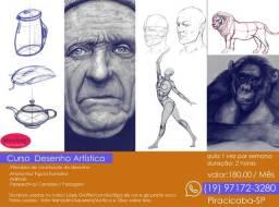 Curso de desenho Artístico