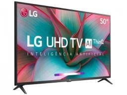 Smart TV 4K LED 50? LG 50UN7310PSC Wi-Fi Bluetooth - Inteligência Artificial 3 HDMI 2 USB