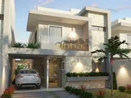Casa Duplex em rua privativa com 4 suites no Eusebio