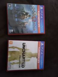 Vendo GOD OF WAR E UNCHARTED COLLECTION