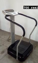 Plataforma Vibratória Evolution cor cinza