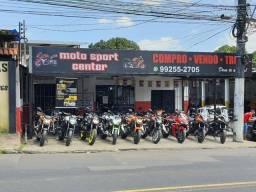 Motos altas cilindrada  na moto sport center  tem