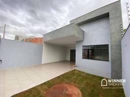 Casa com 3dormitórios sendo 1 suíte à venda, 103 m² por R$ 340.000 - Jardim São Miguel - M