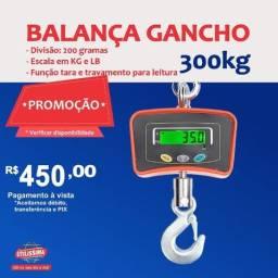 Título do anúncio: Balança Digital de Gancho 300 kgs  Entrega grátis