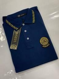 Camisa Versace Gola Polo Linha Premium