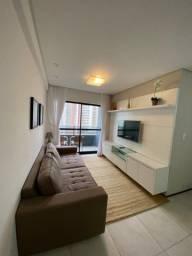 Alugo apartamento com 2 quartos mobiliado, em boa viagem R$:3.500