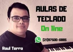 AULA DE TECLADO - ON LINE