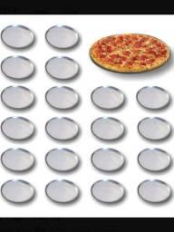Título do anúncio: Formas Para Pizzas Kit Com 50 Formas 32cm