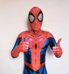 Título do anúncio: Fantasia Cosplay Spiderman Homem Aranha