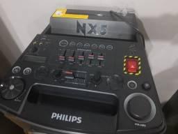 Caixa de som modelo NX5- Philips