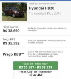 HB20 Comfort Plus 1.6 2013 com GNV