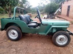 Título do anúncio: Willys Jeep cor verde
