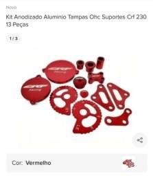 Kit anodizado de alumínio crf 230  13 peças