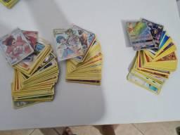 Título do anúncio: Pack com 50 cartas comuns ORIGINAIS+1GX+1ULTRA RARA