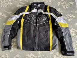 Título do anúncio: Jaqueta moto cordura Ixon c forração P