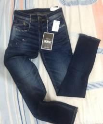 Calça jeans sawary 36 skinny