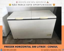 Freezer horizontal 500 Litros - Consul | Matheus