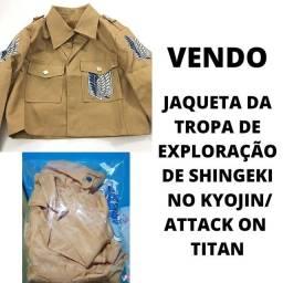 Jaqueta da tropa de exploração Cosplay Shingeki no Kyojin Attack on Titan anime