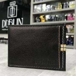 Porta Cartão em Couro Legítimo Original - Aceitamos cartões crédito e débito!!!
